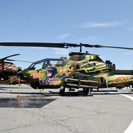 The Four Sisters of the Fourth Anti-Tank Helicopter Squad are Celebrated One Last Time! 5