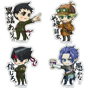 Capcom x B-Side Label Dai Gyakuten Saiban Stickers