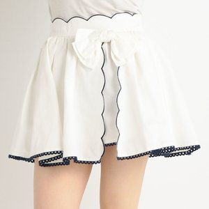 J-Fashion / Bottoms / LIZ LISA Dungaree Scallop Short Pants