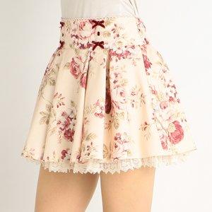 LIZ LISA Floral Sukapan Skirt