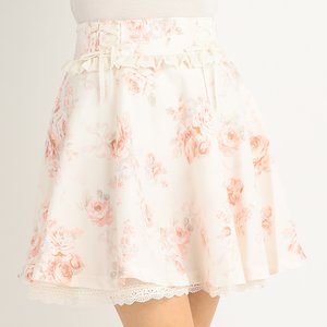 LIZ LISA Floating Rose Skirt