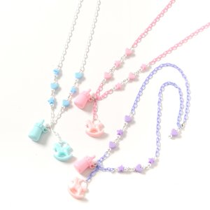 milklim Baby Bottle & Rocking Horse Necklace