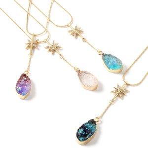 J-Fashion / Jewelry & Hair Accessories / Osewaya Magical Teardrop Stone Necklace