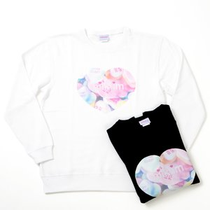 milklim Heart Dreamy Girl Big Sweater