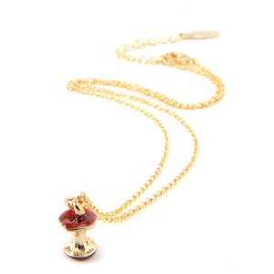 J-Fashion / Jewelry & Hair Accessories / Lilou Apple Core 3D Necklace