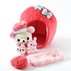 Plushies / Plushie Sets / Minna Ichigo ni Naare Korilakkuma Strawberry Lifestyle Set
