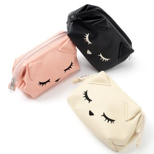 J-Fashion / Wallets & Pouches / Pooh-chan Wide Zippered Pouch