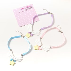 milklim Angel Milk Wing Star Ribbon Necklace