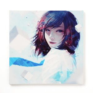 "Art Prints / Art Canvas Boards / wataboku Canvas Print: ""Kansen"""