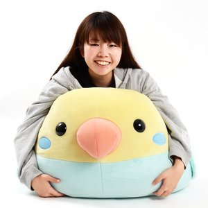 Kotori Tai Bird Pastel Rainbow Plush (Super Jumbo)