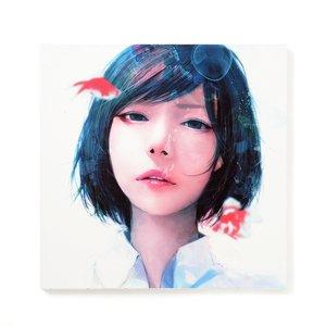 "Art Prints / Art Canvas Boards / wataboku Canvas Print: ""Soredemo Sekai wa Nanimo Kawattenakatta"""