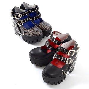 J-Fashion / Shoes / YOSUKE USA Double Strap Pumps