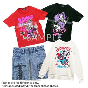 J-Fashion / Tops / Cardigans & Hoodies / Bottoms / LISTEN FLAVOR T-Shirt Fukubukuro (Size M)