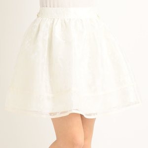 LIZ LISA Organdy Butterfly Skirt