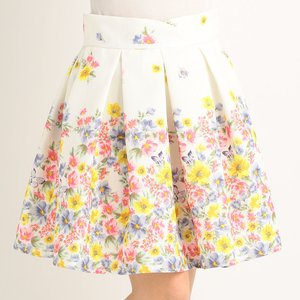 LIZ LISA Flower Hem Skirt
