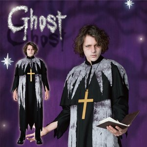 Otaku Apparel & Cosplay / Non-Character Cosplay / Ghost Pastor Costume Set