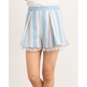LIZ LISA Multi Stripe Shorts