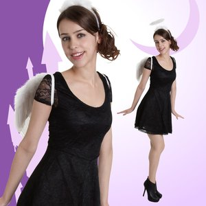 Otaku Apparel & Cosplay / Non-Character Cosplay / Angel Accesory Set (White)