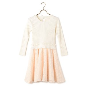 LIZ LISA Knit Combined Dress