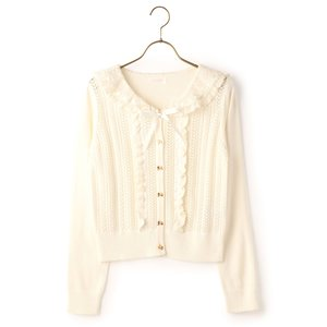 LIZ LISA Sailor Collared Cardigan