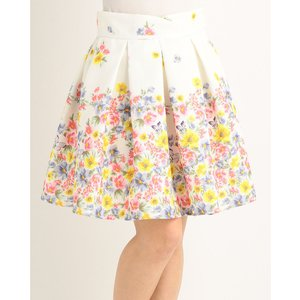 LIZ LISA Lace & Flower Skirt