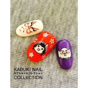 J-Fashion / Makeup & Beauty / Village Vanguard Kabuki Nail Collection