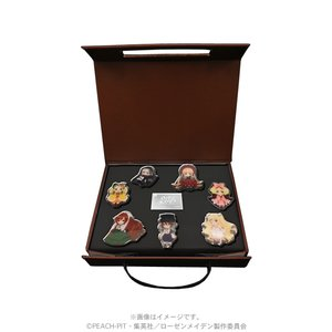Rozen Maiden-SD pin set(7 pins) [Pre-order]