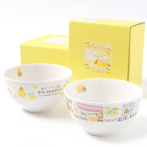 Home & Kitchen / Dishware / A Basketful of Lemons Rilakkuma Multi Bowl