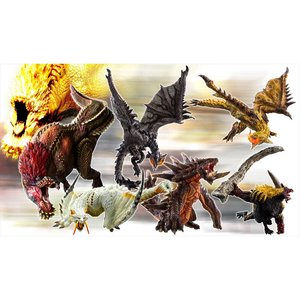 Figures & Dolls / Scale Figures / Capcom Figure Builder Monster Hunter Standard Model+ Ikari Ver. Kai