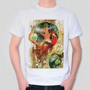 "Illustrated T-Shirt: irorico's ""life factor"""