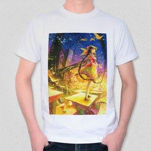 A Golden Town Approaching Dusk T-Shirt