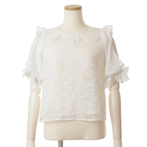 LIZ LISA Flared Sleeve Blouse
