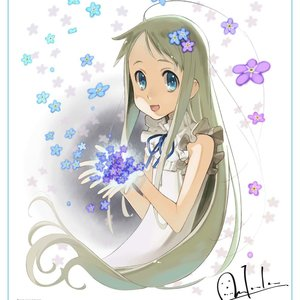Anohana the Movie: The Flower We Saw That Day - Menma Canvas Art