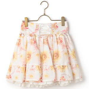 J-Fashion / Bottoms / LIZ LISA Sunflower & Parfait Sukapan Skirt