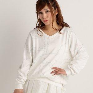 LIZ LISA Heart Message Sweater