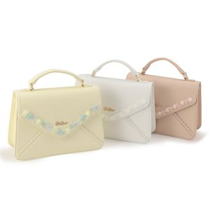 LIZ LISA Organdy Flower Shoulder Bag