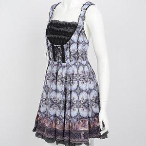 Ozz Oneste Painting Pattern Dress