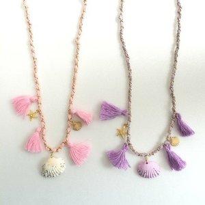 J-Fashion / Jewelry & Hair Accessories / Swankiss Tassel Shell Choker
