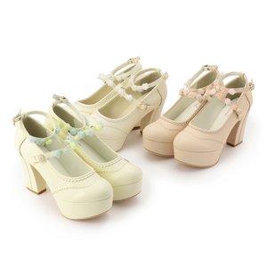 J-Fashion / Shoes / LIZ LISA Organdy Flower Pumps