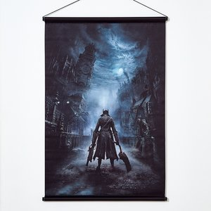 Art Prints / Tapestries / Bloodborne Tapestry Collection: The Hunter