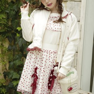 LIZ LISA Frilly Embroidered Blouson