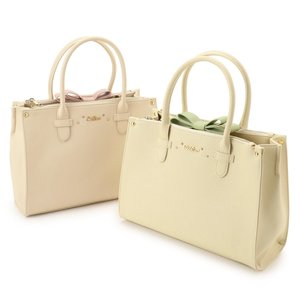 LIZ LISA Ribbon Tote Bag