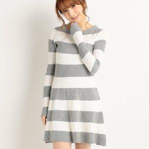 LIZ LISA Thick Stripe Dress