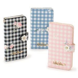 Stationery / Smartphone Cases / LIZ LISA Gingham Flower iPhone Case