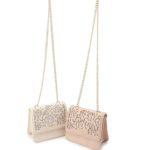 LIZ LISA Rose Filigree Purse
