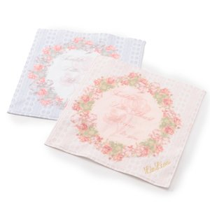 LIZ LISA Rose Wreath Handkerchief