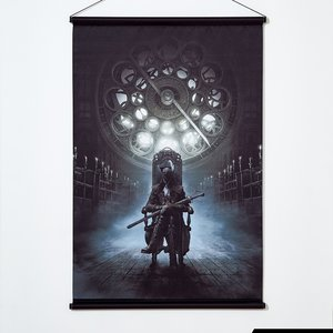 Art Prints / Tapestries / Bloodborne Tapestry Collection: Lady Maria of the Astral Clocktower