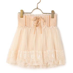 J-Fashion / Bottoms / LIZ LISA Pleated Tulle Sukapan Skirt