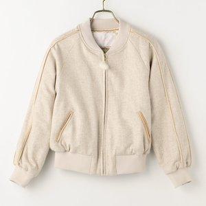 J-Fashion / Cardigans & Hoodies / LIZ LISA Embroidered Back Blouson