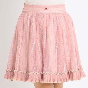 LIZ LISA Contrast Lace Skirt